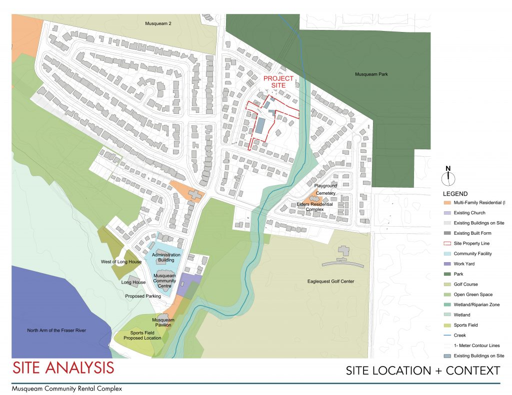 Musqueam Community Rental Complex Site Analysis and Location Context