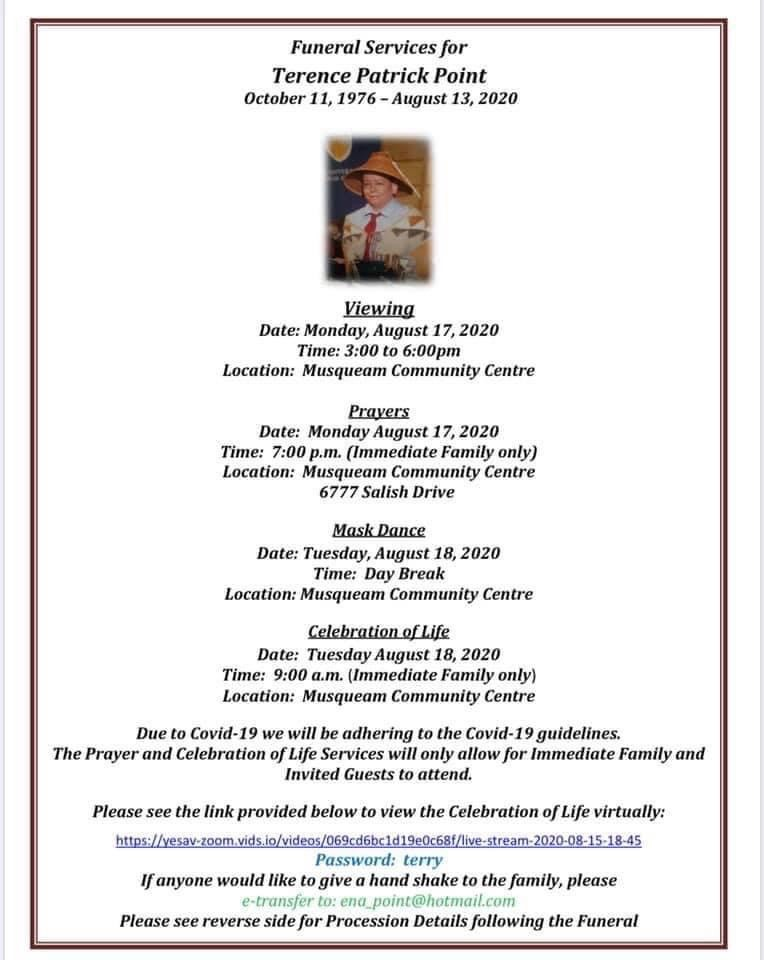 Terry Point Funeral Service