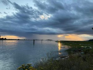 Musqueam Territory, Fraser River, Photo by Councillor Rosalind Campbell.