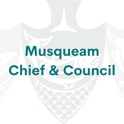 musqueam chief and council