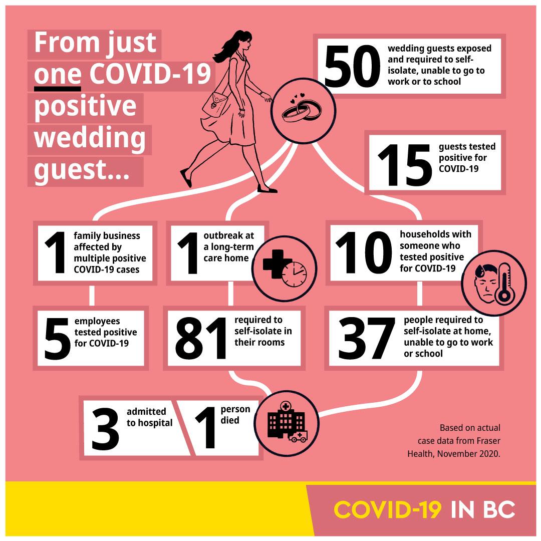 BC Government Visual for covid case spread