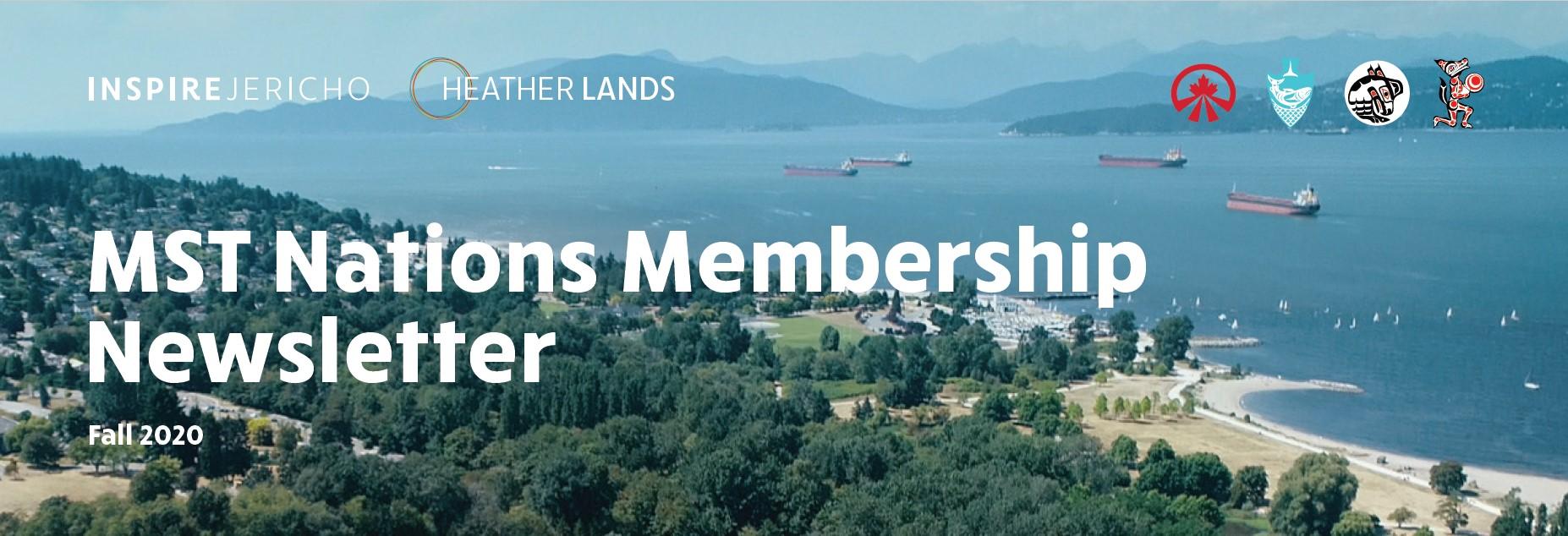 MST Nations Membership Newsletter Fall 2020