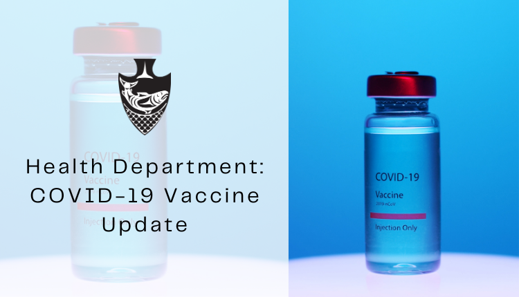 COVID Vaccine Health department update