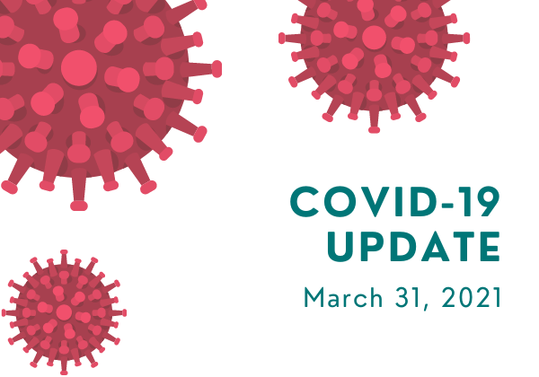 Musqueam's COVID-19 Update for March 31, 2021