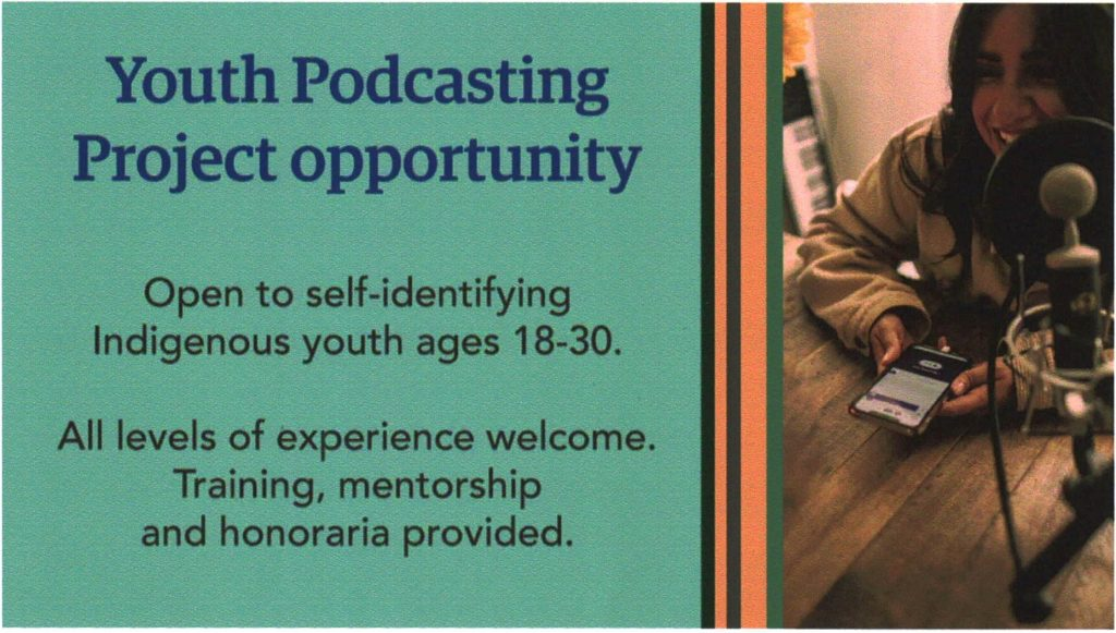 UBC Youth Podcasting Opportunity
