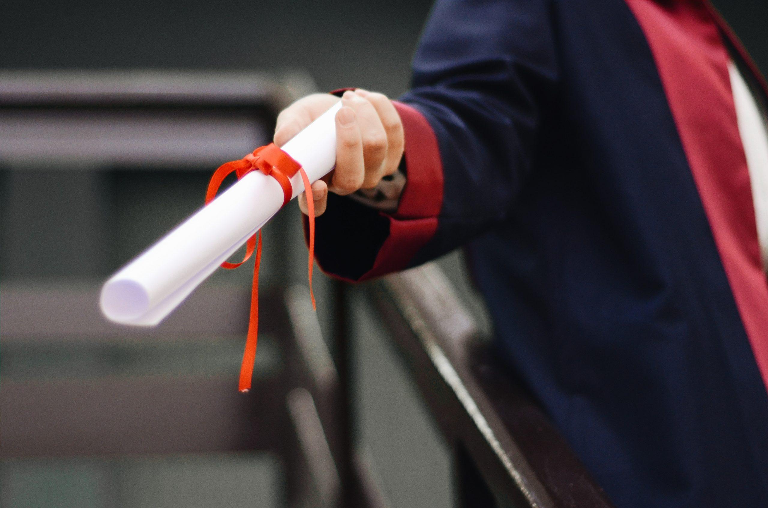 graduation diploma photo