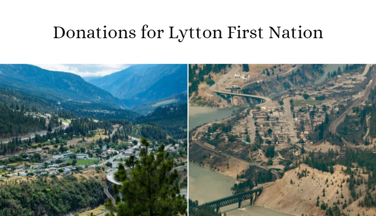 lytton first nation donations