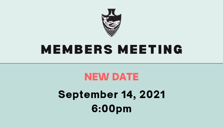 members meeting new date september 14